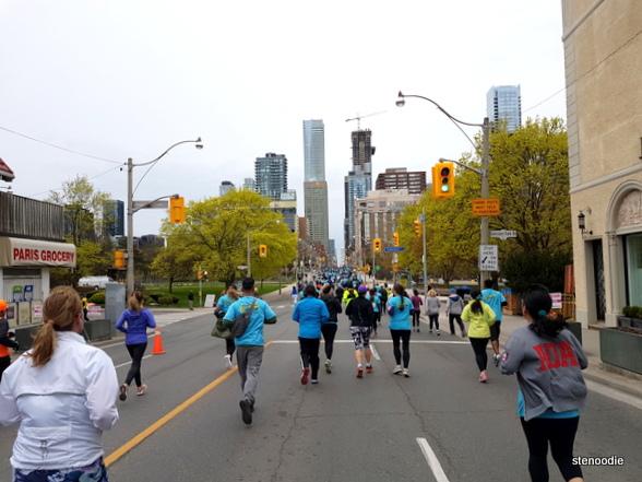 Sporting Life 10K Toronto running