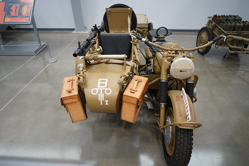BMW R75 with Sidecar and MG-34