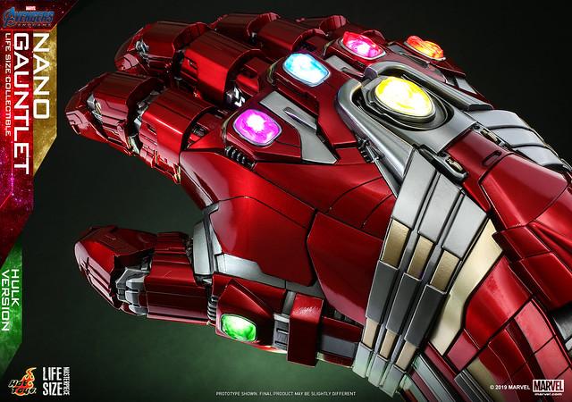 Hot Toys - LMS008 -《復仇者聯盟4:終局之戰》1:1 比例 奈米手套(浩克版) Nano Gauntlet Life-Size Collectible (Hulk Version)