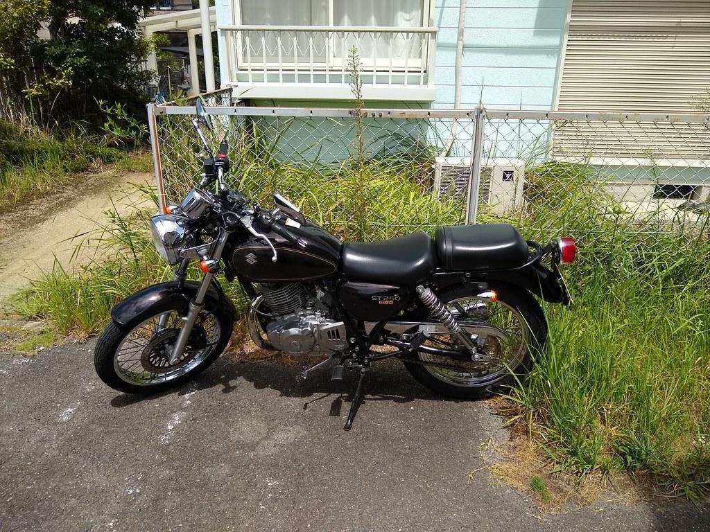 ST250 in Japan