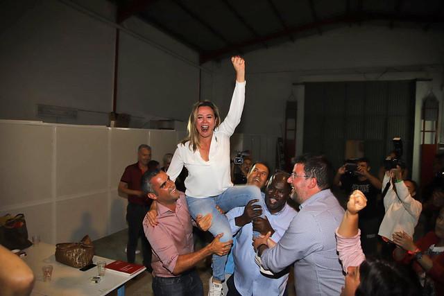 PSOE. Noche electoral 26 M