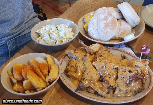 nandos south africa chicken menu