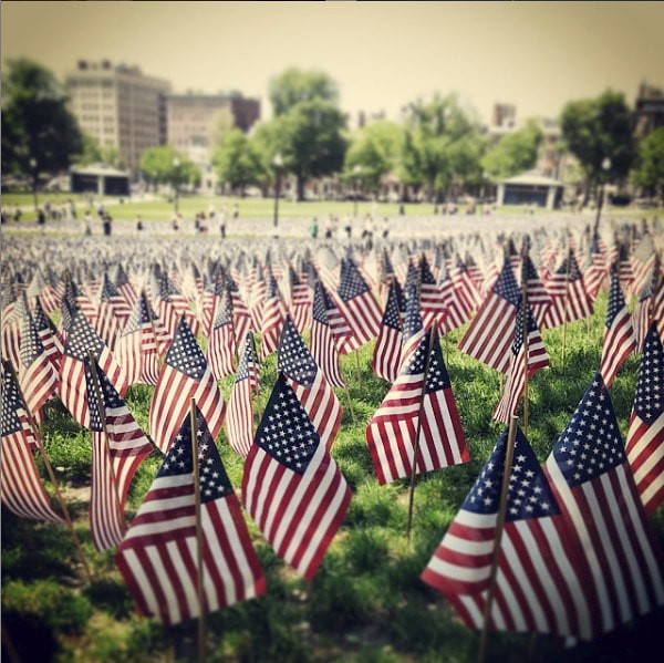 Memorial Day in the Boston Common