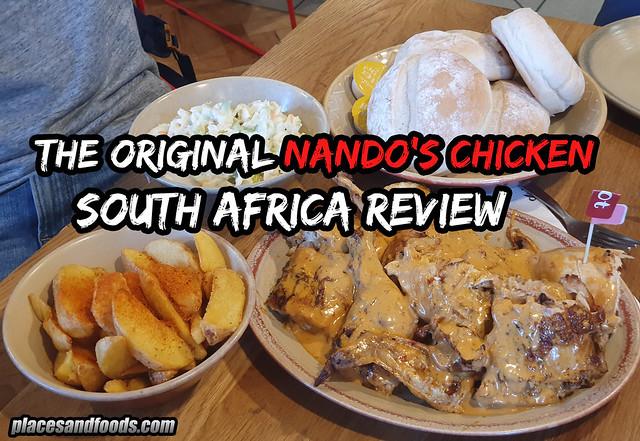 nandos south africa