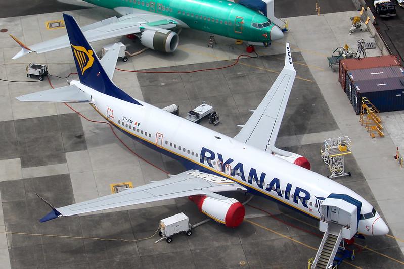 Boeing 737 MAX 8, Ryanair, EI-HAV, LN7534