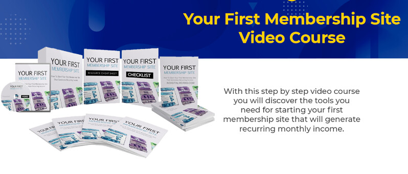 Your First Membership Site Video Course