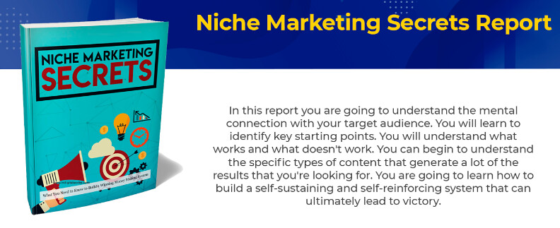 Niche Marketing Secrets Report