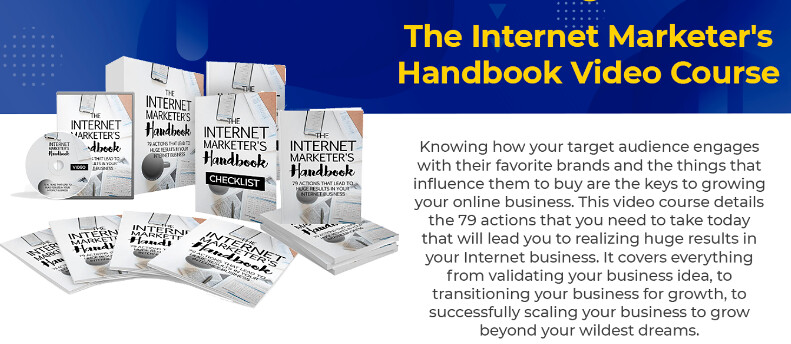 The Internet Marketer's Handbook Video Course