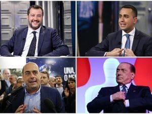 elezioni europee leader forze politiche