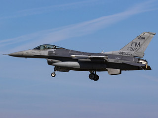 United States Air Force | General Dynamics F-16C Fighting Falcon | 87-0287