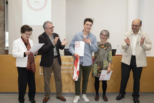 Premi Francesc Noy d'Humanitats 2019