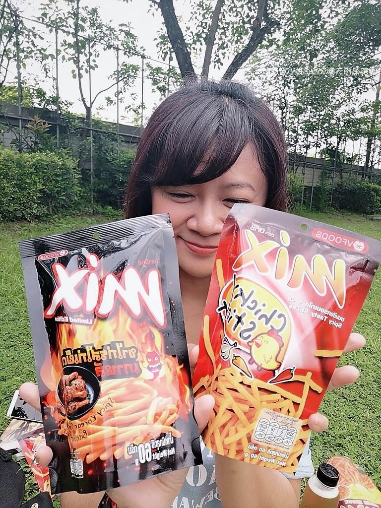 酒窩小姊の追劇零食|泰國超人氣mix脆脆條韓式辣雞口味!香脆辣讓你一口一口涮嘴停不了