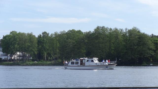 1978 Motorbarkasse der Bundesmarine Marine 1 Typ 1106 von Yachtwerft Köpenick Bau-Nr. 27 im Projekt 407 Talfahrt auf Dahme 12557 Berlin-Köpenick