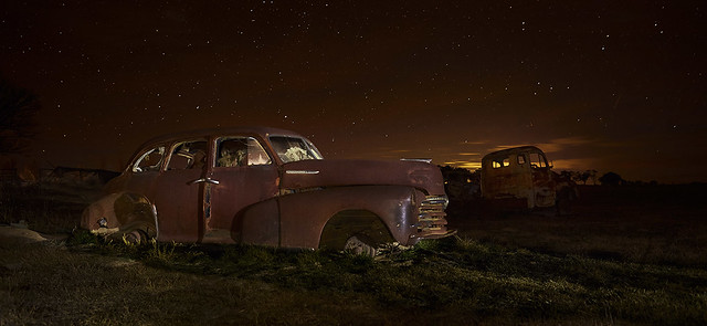Old Chev under Stars - Southern Tablelands - NSW