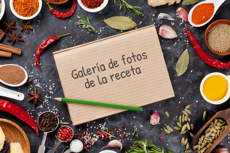 Galería de la receta