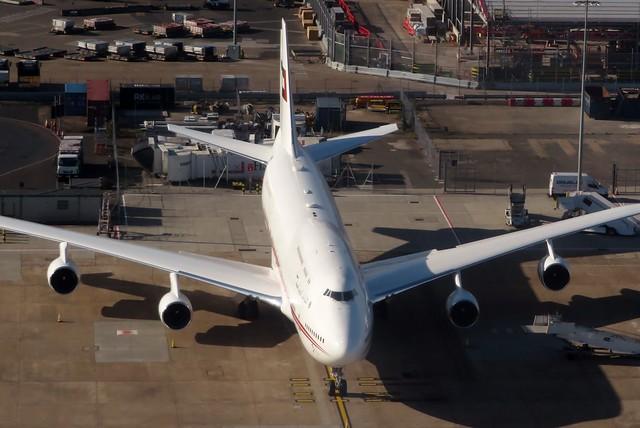 A6-HRM Heathrow 24 August 2018
