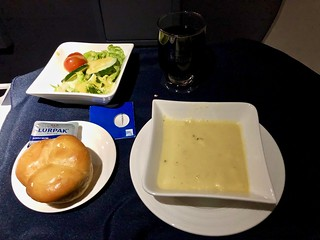 in flight meal - Copa airlines