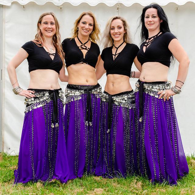Syren Alternative Belly Dancers - Lechlade Music Festival 2019