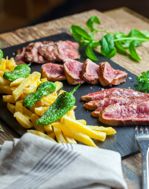 Cinco Jotas tabla de carne