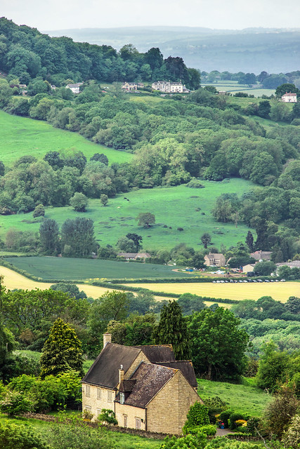 Crickley Hill to Coopers Hill, Cotswolds