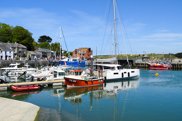 Padstow Harbour, Cornwall