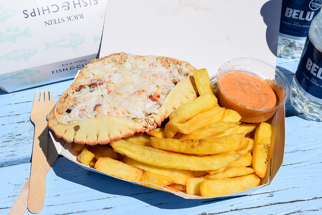 Dressed Crab from Rick Stein's Fish and Chips, Padstow