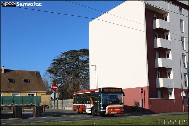 Irisbus Agora S - Setram (Société d'Économie Mixte des TRansports en commun de l'Agglomération Mancelle) n°612