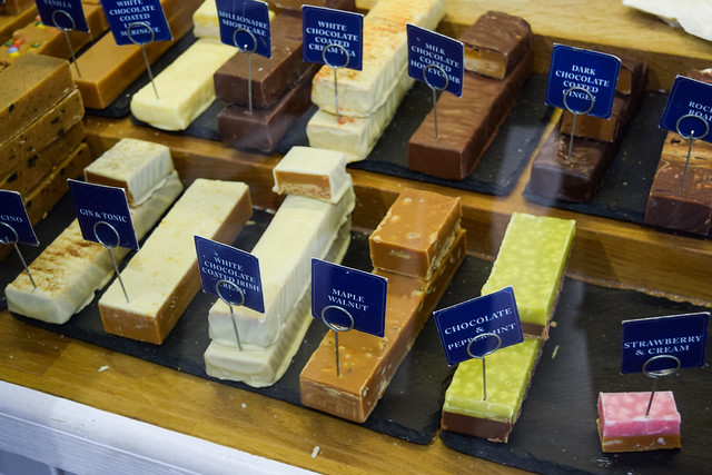 Buttermilk Fudge, Padstow, Cornwall