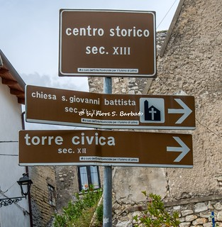 Castelforte (LT), 2019, Centro storico.