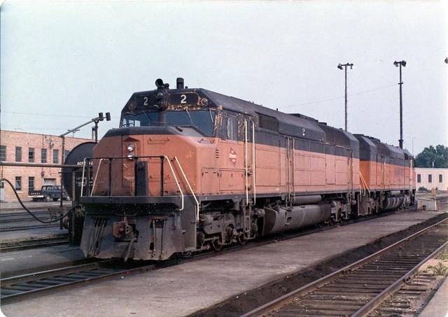 Milwaukee Road FP45 2