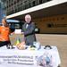 foodwatch-Aktion in Brüssel: Offener Brief an Jean-Claude Juncker
