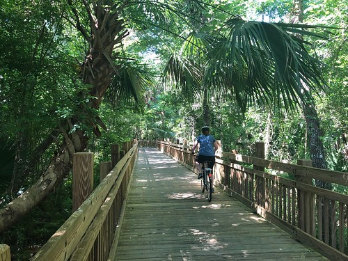 Cycling at Celebration. From 5 Family-Friendly Eco Destinations in Kissimmee, Florida
