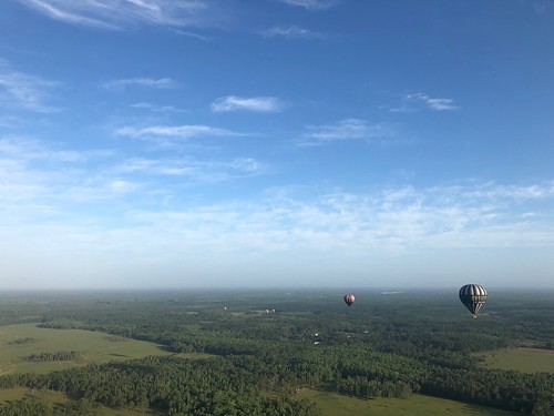 Hot air ballooning. From 5 Family-Friendly Eco Destinations in Kissimmee, Florida