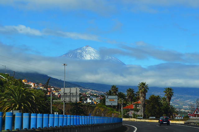 North Tenerife driving