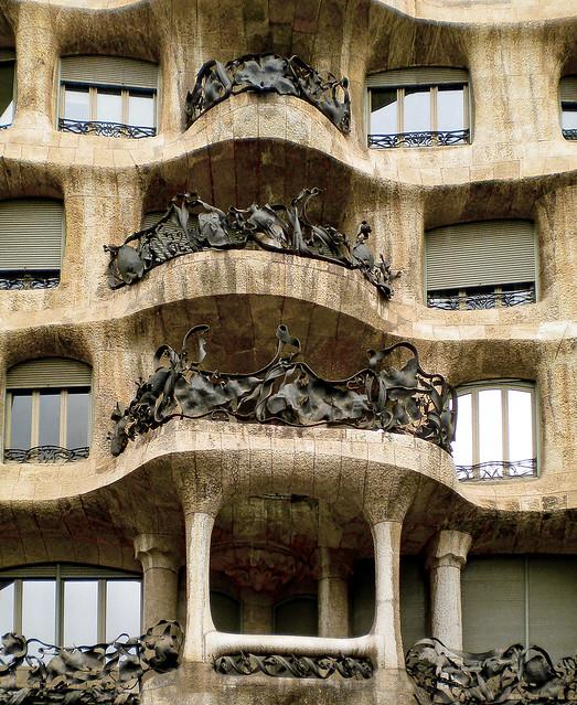 Casa Milà, Barcelona, España