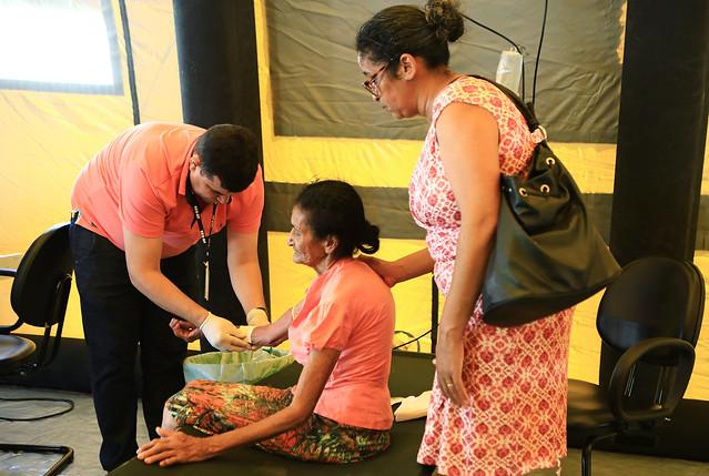 Iniciada força-tarefa para hidratação de pacientes com suspeita de dengue