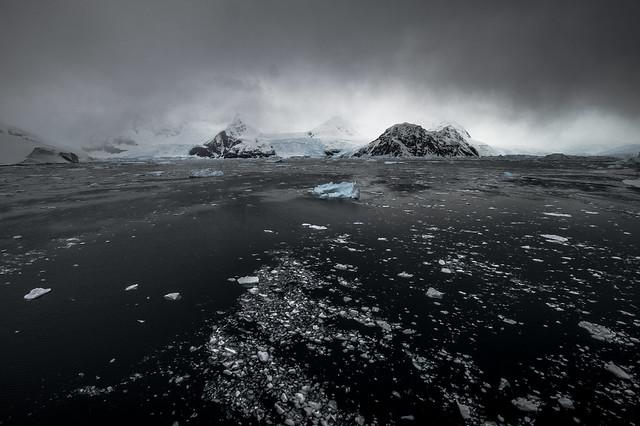 ... Discovery Bay ... penisola antartica, il tempo cambia (02) ...