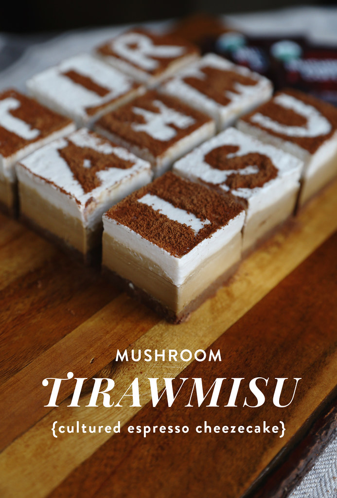 Cultured Mushroom Coffee Tirawmisu