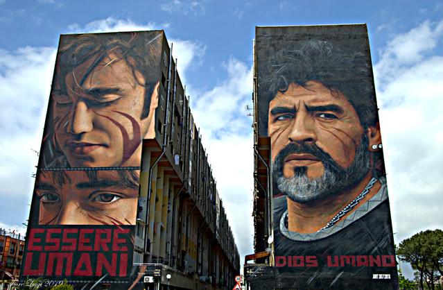 Essere umano Dios Umano: lo scugnizzo e Diego Armando Maradona
