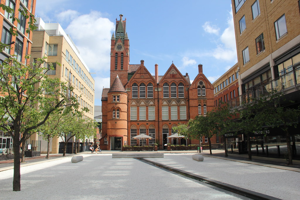 Oozell's Square, Brindley Place, Birmingham