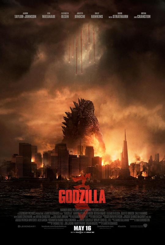 Godzilla - 2014 - Poster 4