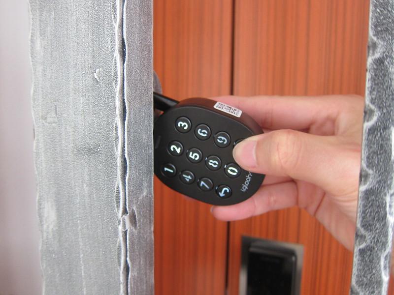 igloohome Smart Padlock - Unlocking