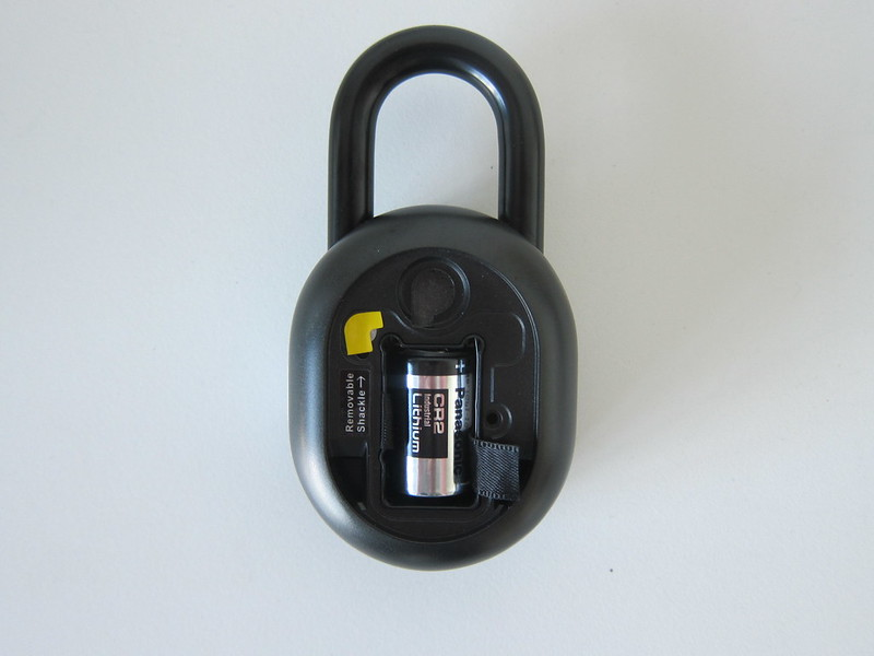 igloohome Smart Padlock - Back - Cover Open