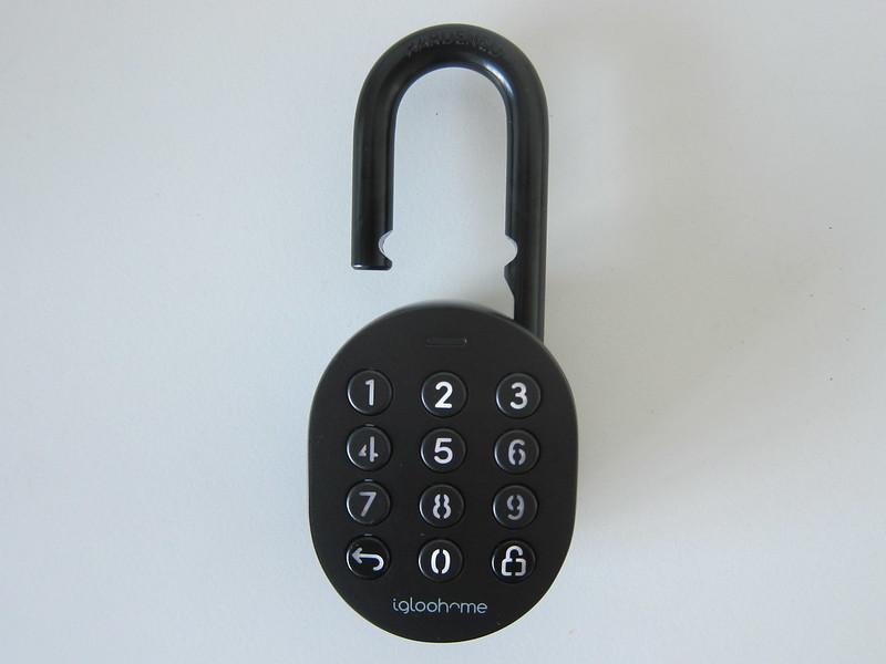 igloohome Smart Padlock - Unlocked