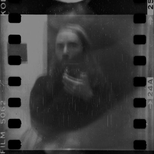 Shaky Self-portrait on a 80 yo camera