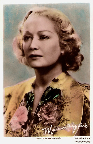 Miriam Hopkins in Men Are Not Gods (1936)