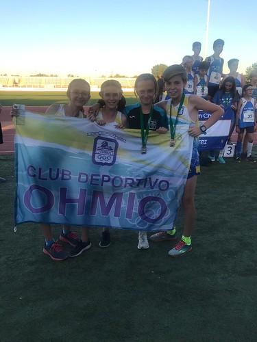 AionSur 47943290327_27008dc6f7_d Nuevas mínimas y podios para el Ohmio Júnior Atletismo Deportes  destacado