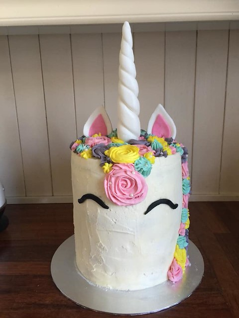 Unicorn Cake by Maren Elise Morgan