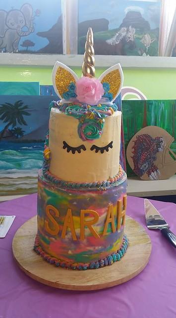 Unicorn Cake by Amanda Nicole Lichty of The Last Course