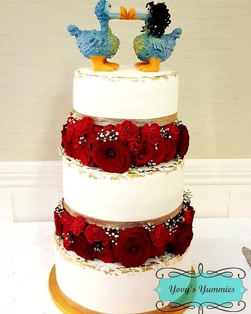 Cake by Yovana Yovy Mooroongapillay of Yovys Yummies
